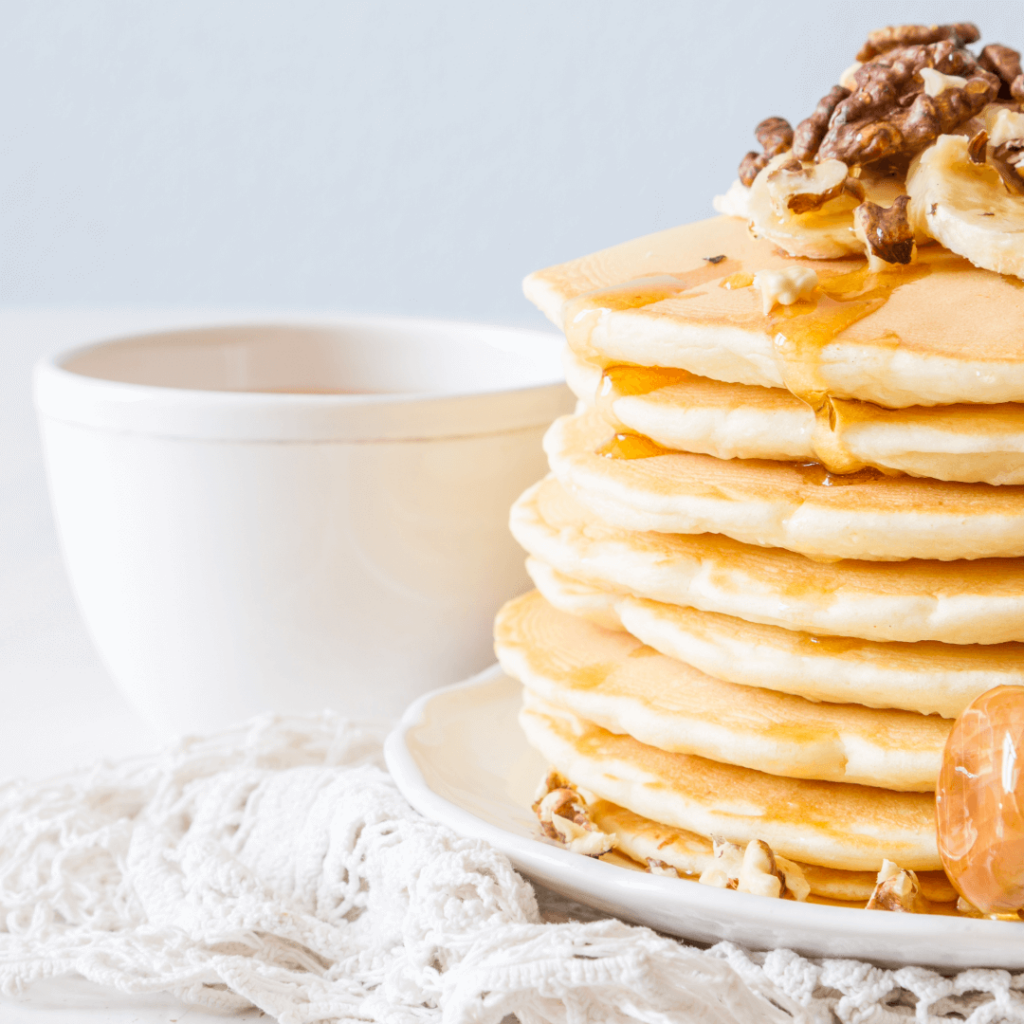 no butter easy pancakes recipe