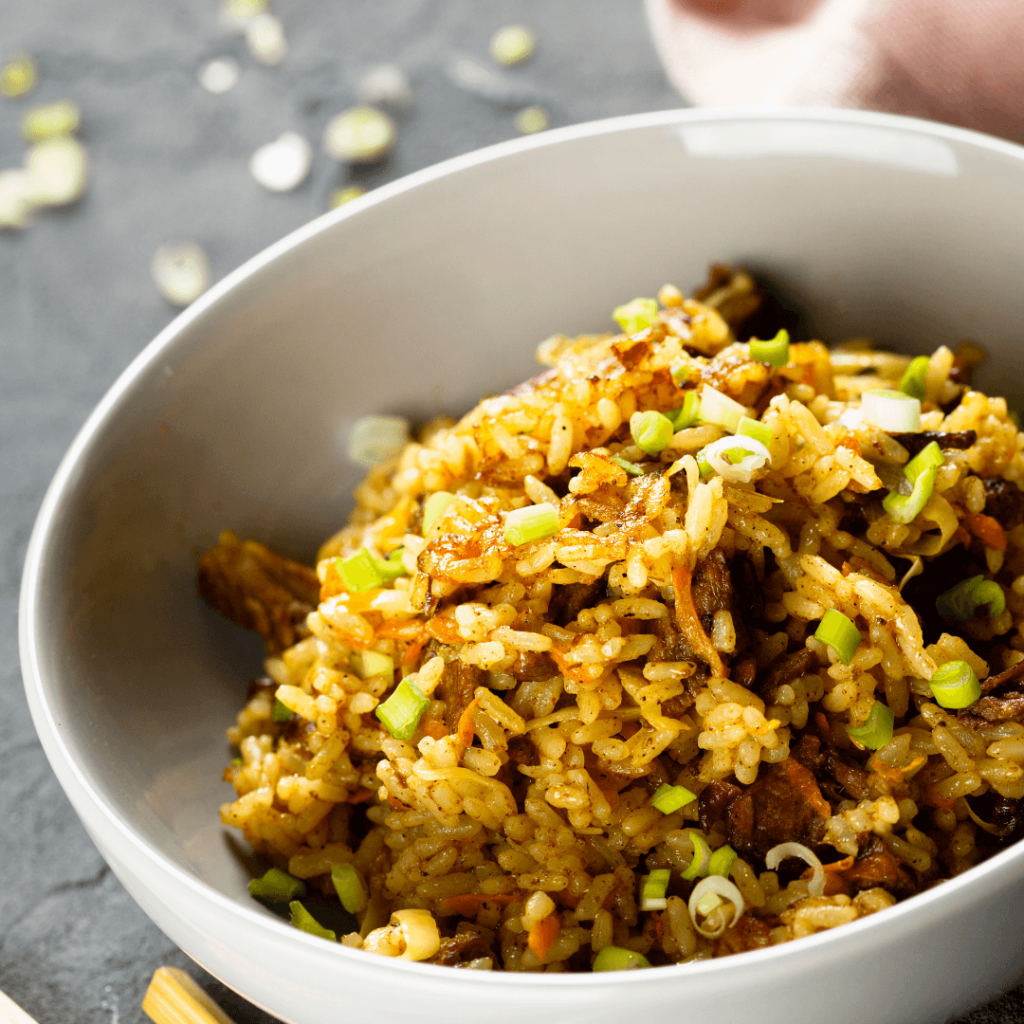 cabbage with rice